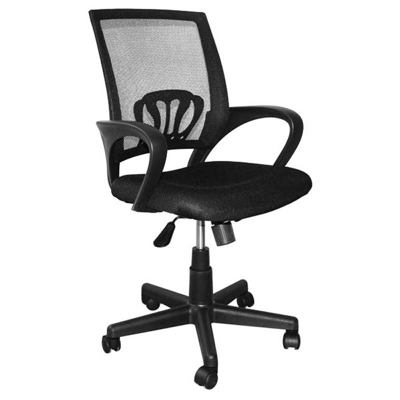 9KG Swivel Office Chairs With Wheels , High Back Computer Chair With Lumbar Support